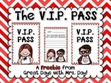 The V.I.P. Pass