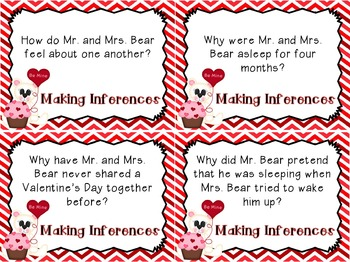 The Valentine Bears - {Reading and Writing Activities}