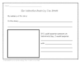 The Valentine Bears by Jan Brett Writing Activity