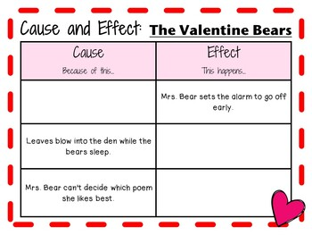 The Valentine Bears by Eve Bunting:    A Complete Literature Study!