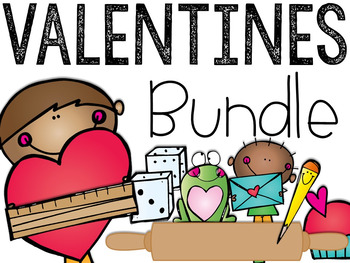 The Valentine's Day Bundle: Math & Literacy Activities and Centers
