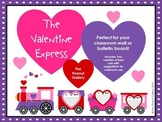 The Valentine Express (Bulletin Board/ Wall Display)
