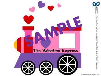 The Valentine Express (Bulletin Board/ Wall Display)