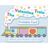 The Valentine Train Mini-book & Card Combo