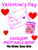 The Valentine's Day Book * Emergent Reader Book .. Perfect for Read to Self!
