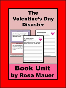 The Valentine's Day Disaster Book Unit