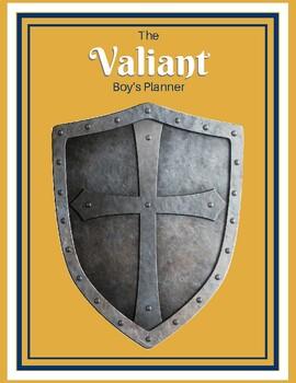 The Valiant Boy's Planner