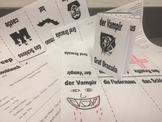 The Vampire (der Vampir) - German Story (TPRS) and Mini-Bo