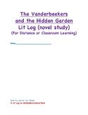 The Vanderbeekers and the Hidden Garden Lit Log (Novel Stu