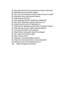 The Vanderbeekers of 141st Street Trivia Questions