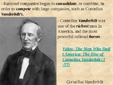 The Vanderbilt's and the Railroad Industry PowerPoint Pres