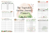 The Vegetable Garden Journal Planner