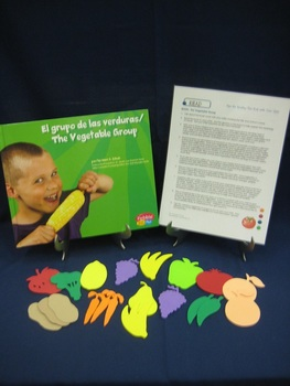 The Vegetable Group hard cover English parent pack