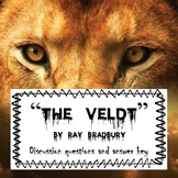 """""""The Veldt"""": Before, During and After Reading (lesson bundle)"""