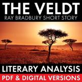 The Veldt, Ray Bradbury Short Story Worksheets + Multimedi