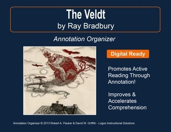 """The Veldt"" by Ray Bradbury: Annotation Organizer"