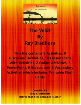 The Veldt by Ray Bradbury Short Story Teacher Supplemental Resources