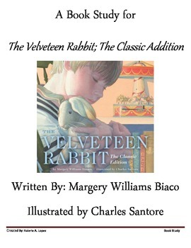 The Velveteen Comprehension Packet- A Book Study