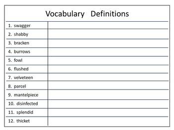 The Velveteen Rabbit ~ 41 pg. Common Core Activities