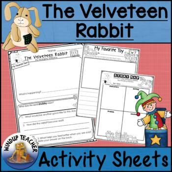 The Velveteen Rabbit Activity Sheets *Print and Go*