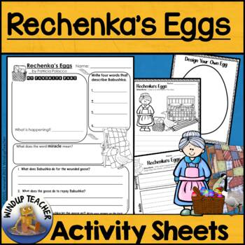 Rechenka's Eggs Activity Sheets *Print and Go*