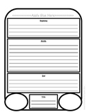 Bunny Graphic Organizer Beginning, Middle, and End