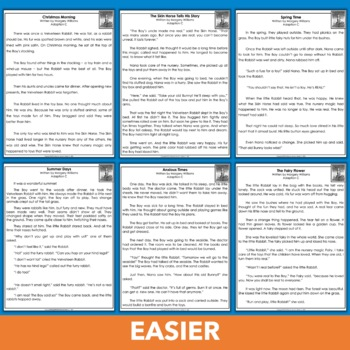 The Velveteen Rabbit Differentiated Reading Passages