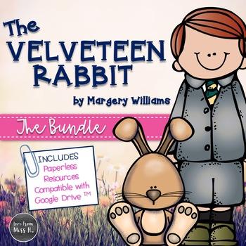 The Velveteen Rabbit Novel Study (Paper & Digital)