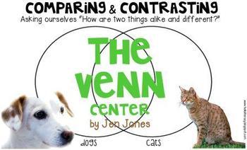 The Venn Center: A Higher Level Independent Thinking Center {Set 1}