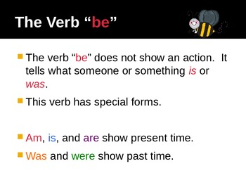"""The Verb """"BE"""""""