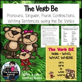 Be Verbs {Anchor Charts, Sorting Center, Contractions & MORE}