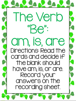 "The Verb ""Be"" Center"