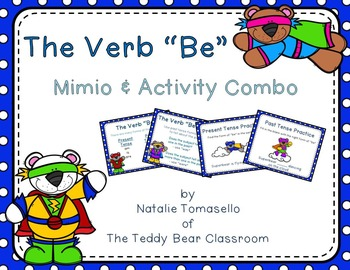 "The Verb ""Be"" - Read the Room, Center, and Mimio Combo"