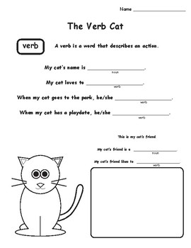 The Verb Cat