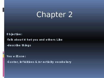 """The Verb """"GUSTAR"""" powerpoint activity"""