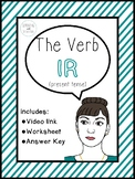 Spanish Verbs | The Verb IR (present tense)