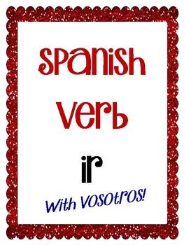 Spanish Verb IR - with vosotros