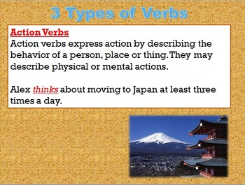 The Verb PowerPoint Introduction