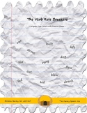 The Verb Rule Breakers - Irregular Past Tense Verbs Practi