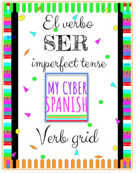The Verb SER in Spanish -IMPERFECT