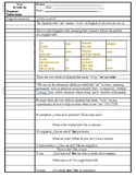 The Verb Ser Cornell Notes