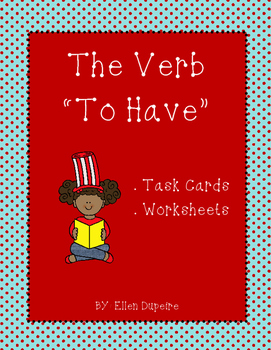"""The Verb """"To Have"""" Mini Pack"""