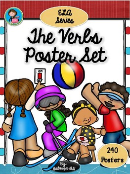 The Verbs 240 Poster Set