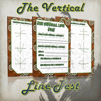 The Vertical Line Test- (Guided Notes and Practice)