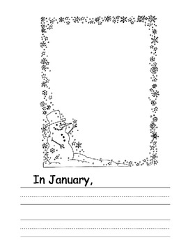 The Very Busy Kindergarten writing booklet