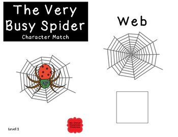 The Very Busy Spider Adapted Books