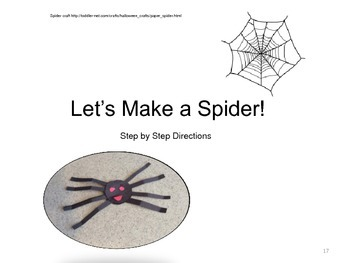 The Very Busy Spider Companion/Activity Pack- Special Education and SLP