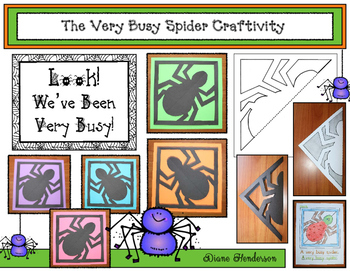 The Very Busy Spider Craftivity