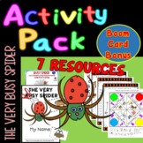 The Very Busy Spider Cut & Paste Minibook plus 5 activities