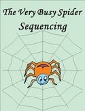 The Very Busy Spider Eric Carle Sequencing Text Activity